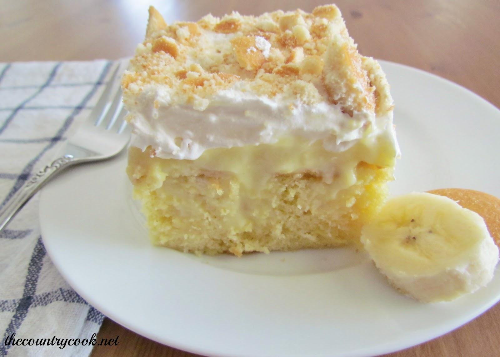 Double Banana Upside Down Cake Recipe