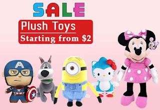 Plush Toys Sale