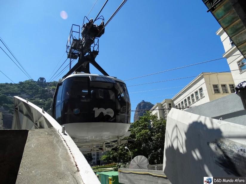 Bondinho - O que fazer no Pão de Açúcar - Rio de Janeiro
