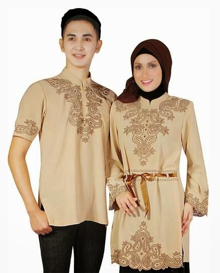 Baju Muslim Couple Terbaik 2015