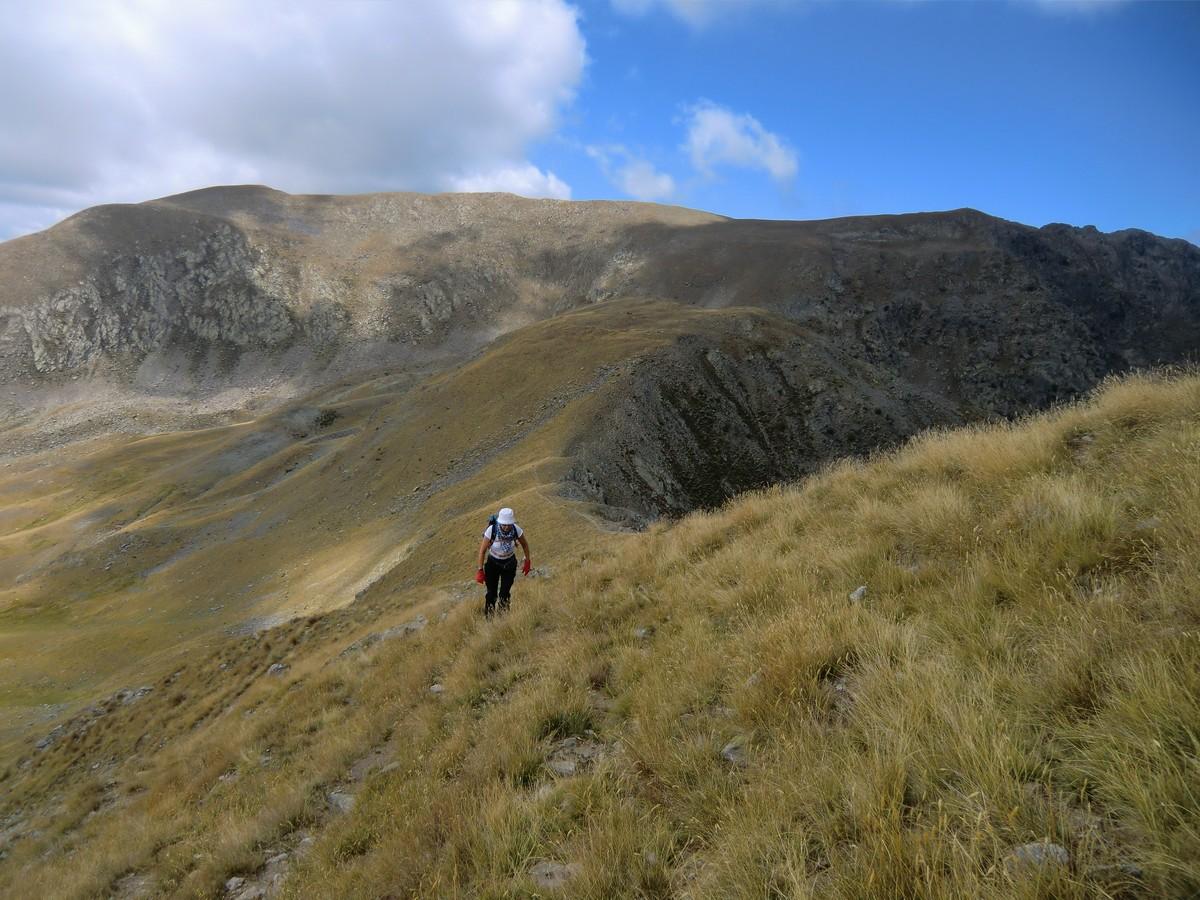 Ascending to Tête des Marges