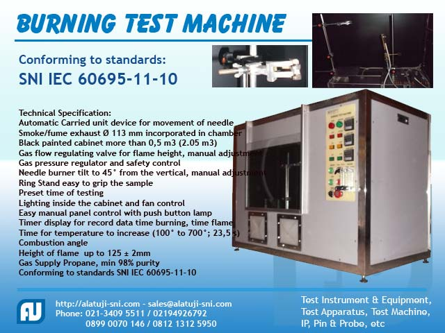 Burning Test Machine - Alat Uji Laboratorium Listrik