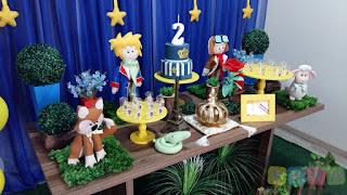 Decoração festa infantil O Pequeno Príncipe Porto Alegre