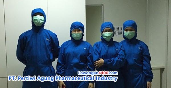 Lowongan Kerja PT. Pertiwi Agung Pharmaceutical Industry (Landson) Cikarang
