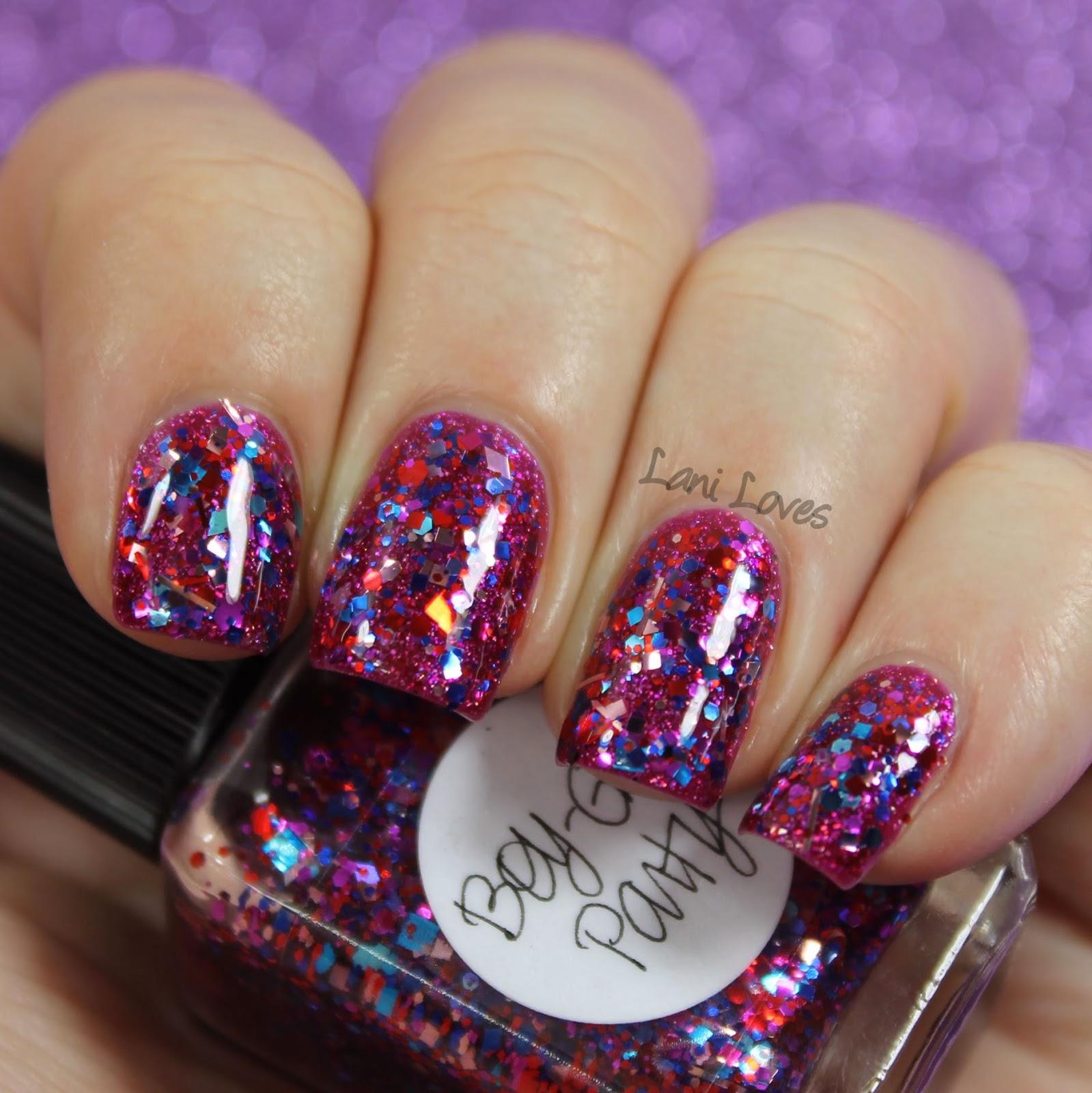 Lynnderella Boy-Girl Party nail polish swatch