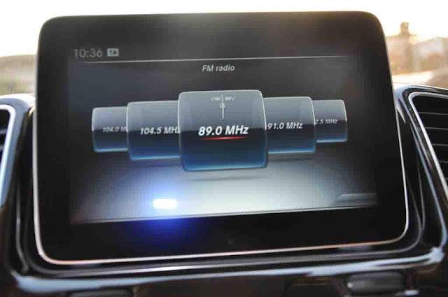 Mercedes GLS 400 4MATIC 2018 sử dụng Hệ thống giải trí tiên tiến và hàng đầu của Mercedes hiện nay