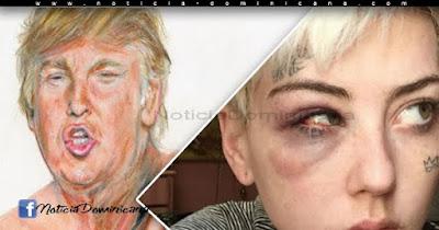 Artista fue agredida por pintar a Donald Trump con un pene pequeño