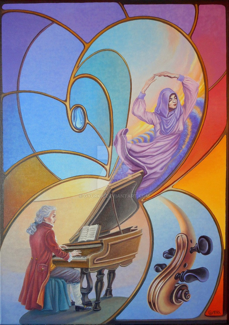 05-Lavender-flavor-symphony-Gyuri-Lohmuller-Complex-Surreal-Paintings-that-make-you-Think-www-designstack-co