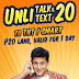 Talk N Text Unli Call & Text 1 Day: Unli Talk&Text 20