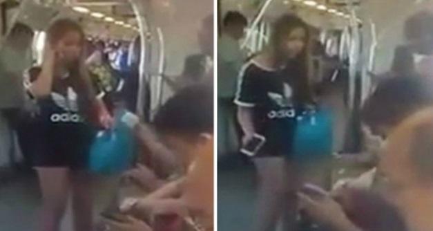 Biadap! Anak maki ibu dalam MRT, berang paksa bayar ganti rugi kerana terpijak kasutnya