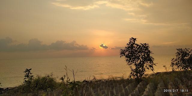 Wordless  | Cantiknya Matahari Terbenam Di Ban Pecah Tanjung Piandang