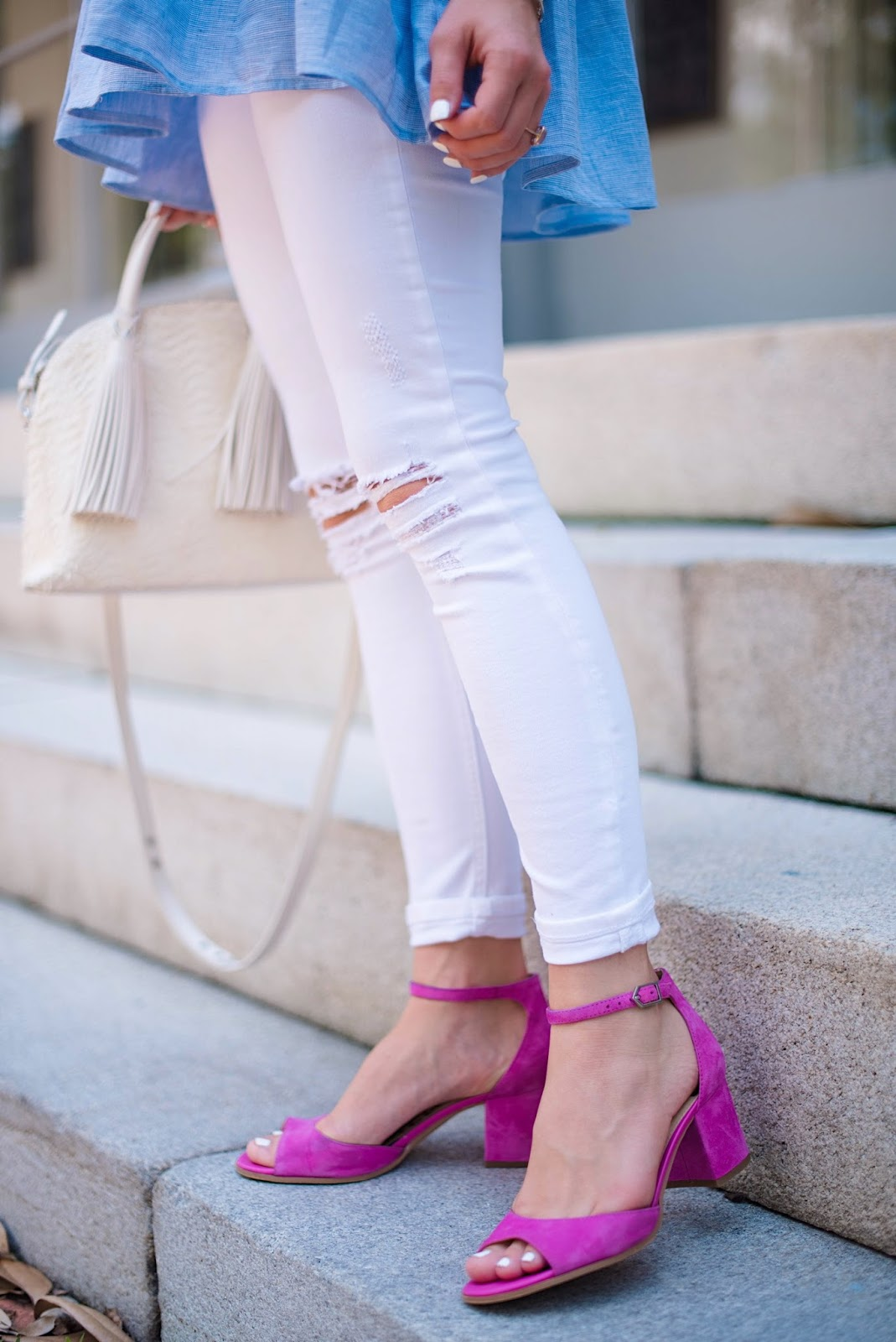 Blue & Pink - Click through to see more on Something Delightful Blog!