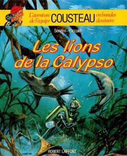 Cousteau en BD
