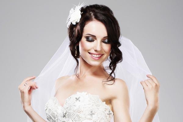 Peachy Mekuteku Wedding Hairstyles For Medium Length Hair With Veil Short Hairstyles Gunalazisus