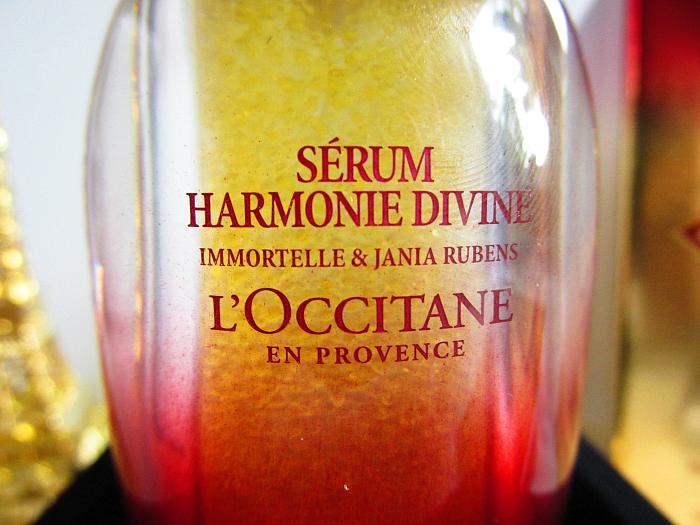 L´OCCITANE - Harmonie Divine Serum Immortelle & Jania Rubens