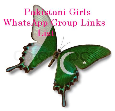 Pakistani Girls WhatsApp Group Links list 2018-2019