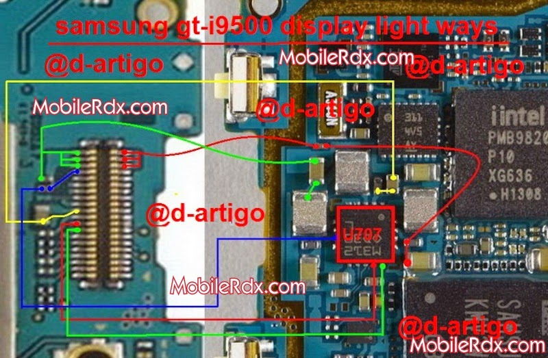 مجموعة اعطال Samsung Galaxy S4 I9500 علي فون