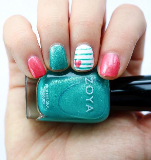 Zoya Zuza - Mani Monday - Summer Nail Art - Tori's Pretty Things Blog