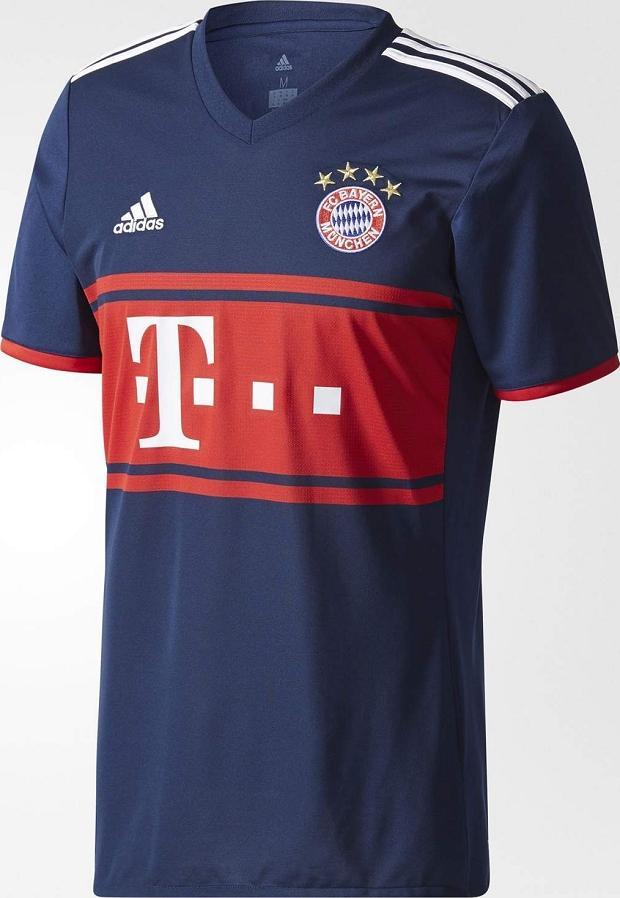 11ca7202e5bde Adidas lança nova camisa reserva do Bayern de Munique - Show de Camisas