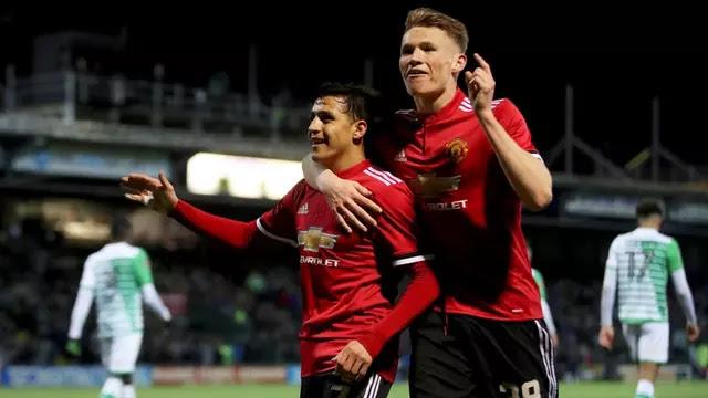 Manchester United Bungkam Yeovil
