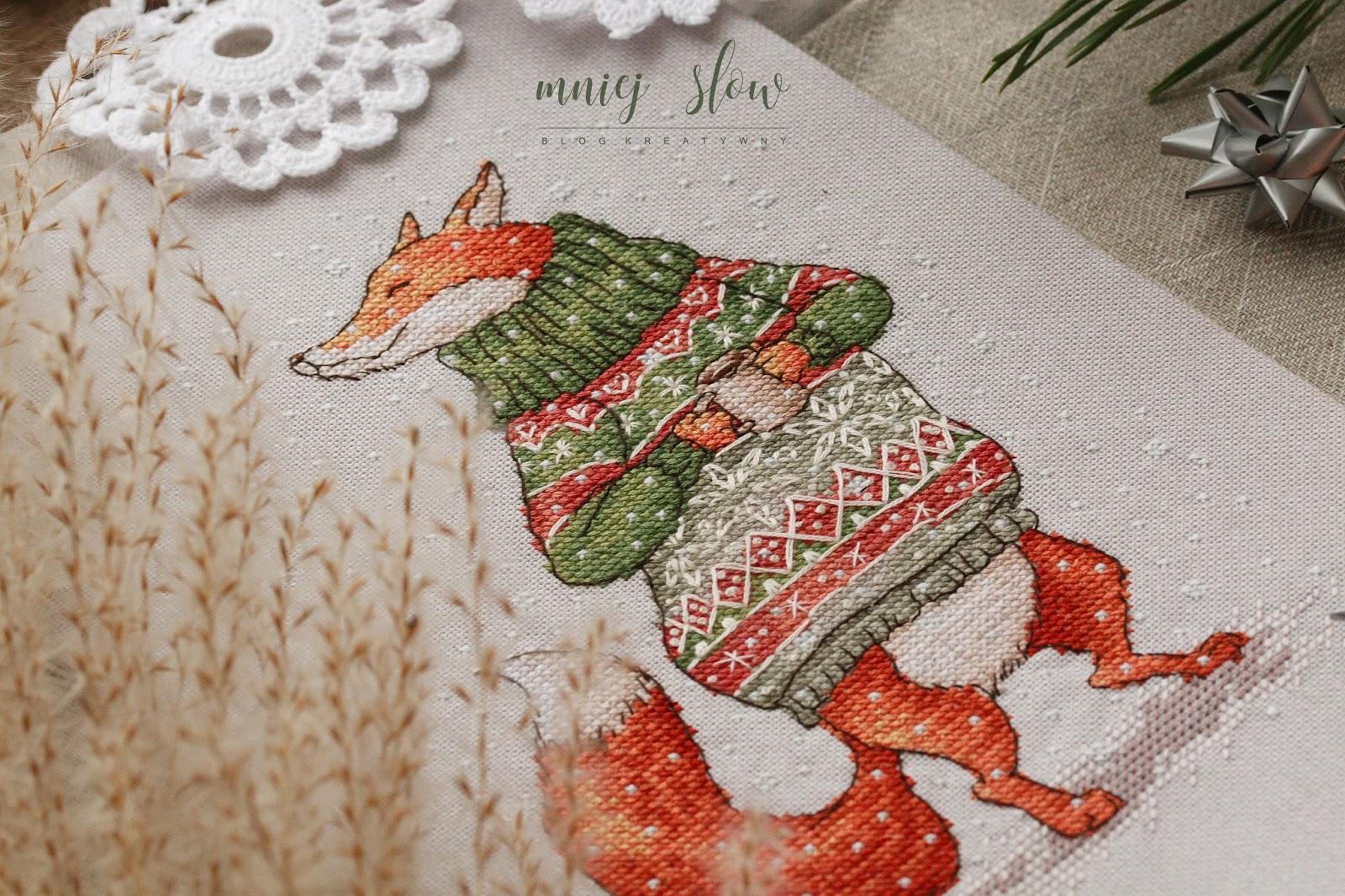 Lis w sweterku - Ekaterina Gafenko #2