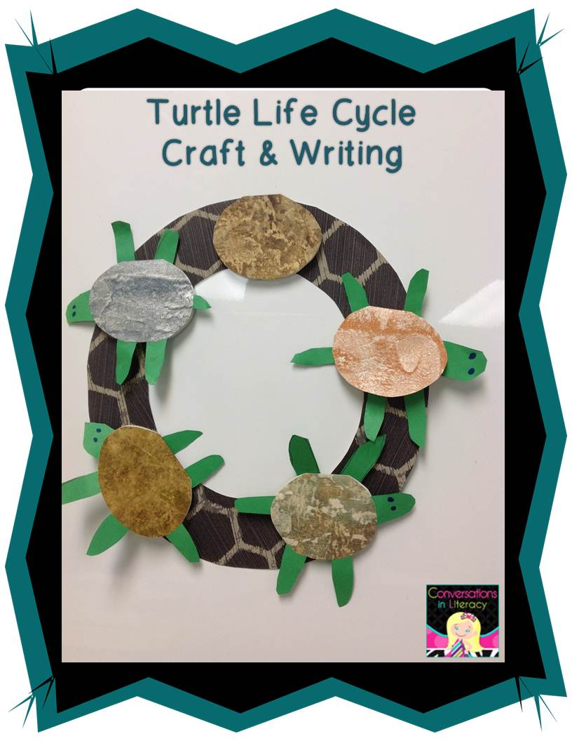 One Tiny Turtle Craft And Writing Conversations In Literacy