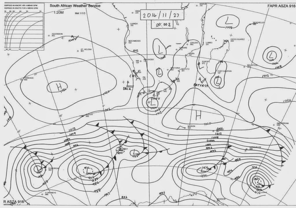 Mossel Bay Weather Observation, South Africa : Latest Sea