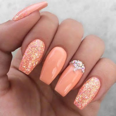 Acrylic Nails For Summer with fake Summer nails