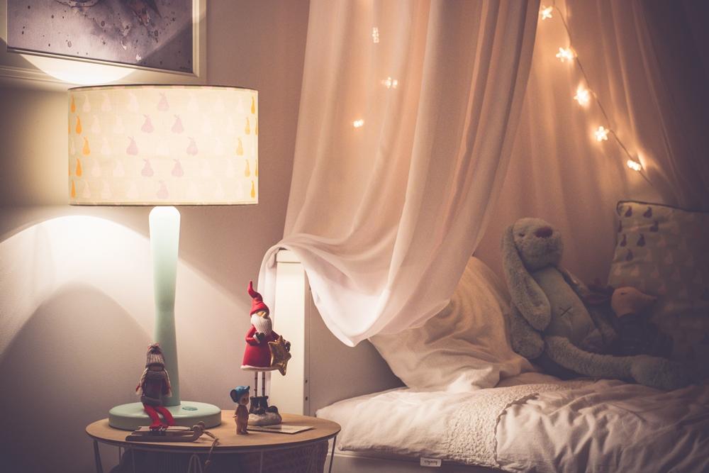 lampka nocna z przytulnym światłem
