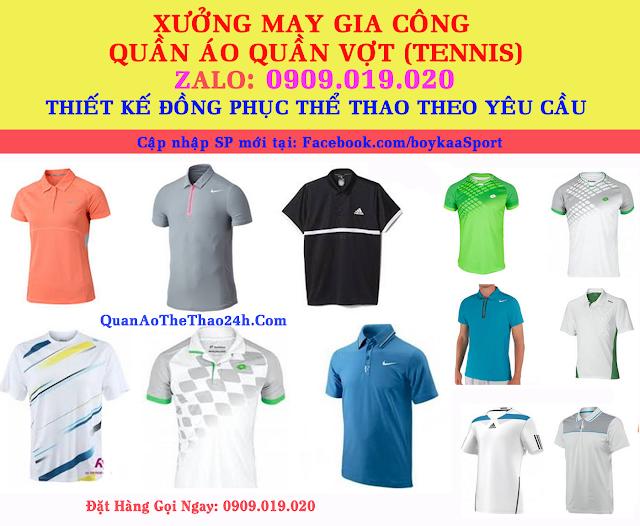 Xưởng May Giá Sỉ quần áo tennis nữ vnxk Cực Rẻ (O9O9.O19.O2O) SaiGon