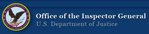 U.S. Justice Department, Office of Inspector General, logo
