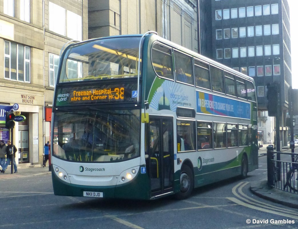 FOCUS TRANSPORT: Stagecoach in Chesterfield and a Tornado