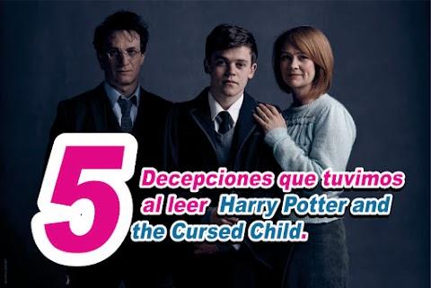 "(Novela Sobrenatural) 5 decepciones que nos trajo ""Harry Potter and the Cursed Child"""