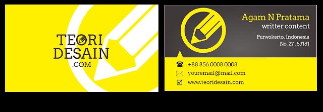 Cara Desain Kartu Nama Menggunakan CorelDRAW (Business Card)