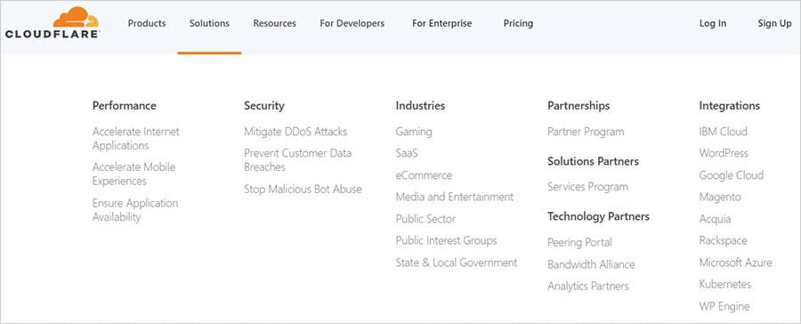 Сервисы Cloudflare