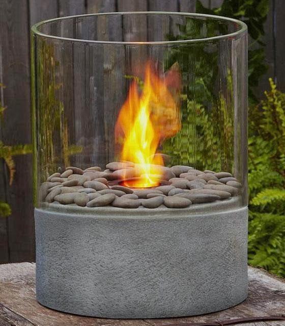 Estufas y hogueras de exterior la ltima tendencia 1 - Estufas de gas pequenas ...
