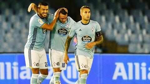 6 vòng đã diễn ra, Celta Vigo ghi được tổng cộng là 11 bàn.