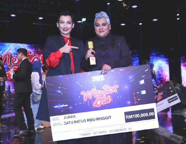 Juara Mentor Otai Membawa Pulang RM100,000
