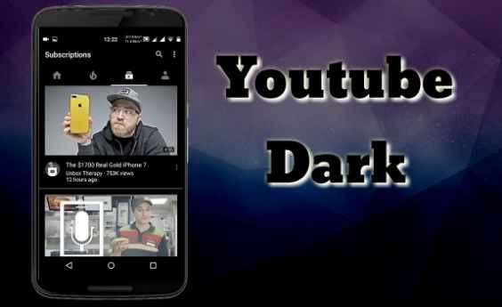يوتيوب الأسود