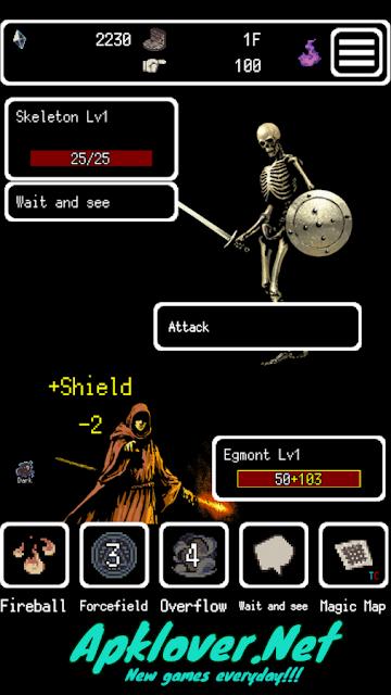 Buriedbornes - Hardcore RPG MOD APK