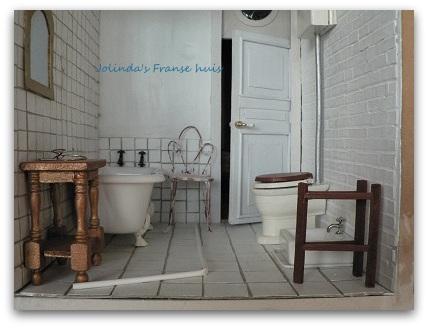 Jolinda\'s Franse huis: Weer een stuk verder met de badkamer