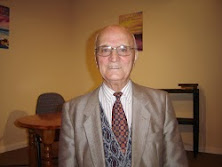 92 YEAR OLD PASTOR ARTHUR WICKS, WHO SPEAKS REGULARLY IN THE CHURCHES AROUND SOUTH EAST WALES.