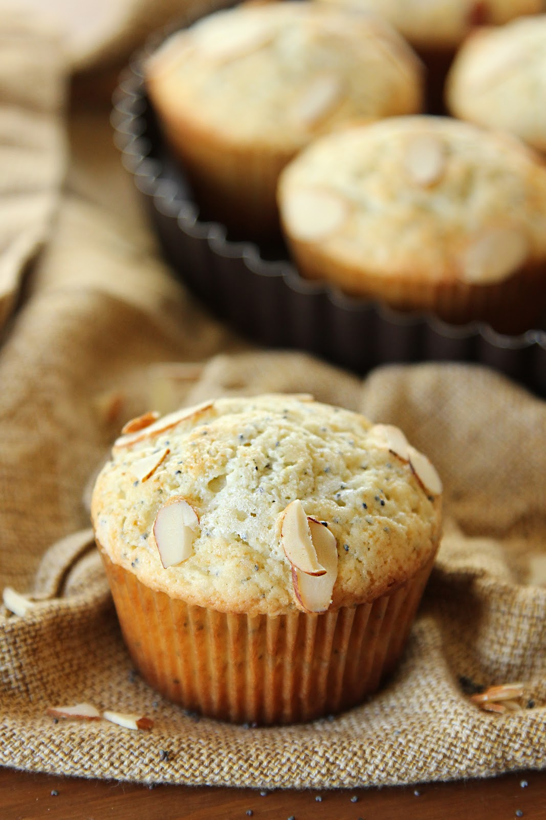 Life Made Simple: Almond Poppy Seed Muffins