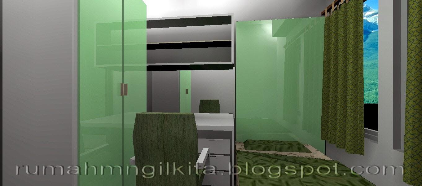 Desain Kamar Tidur 2 5 X 2 5