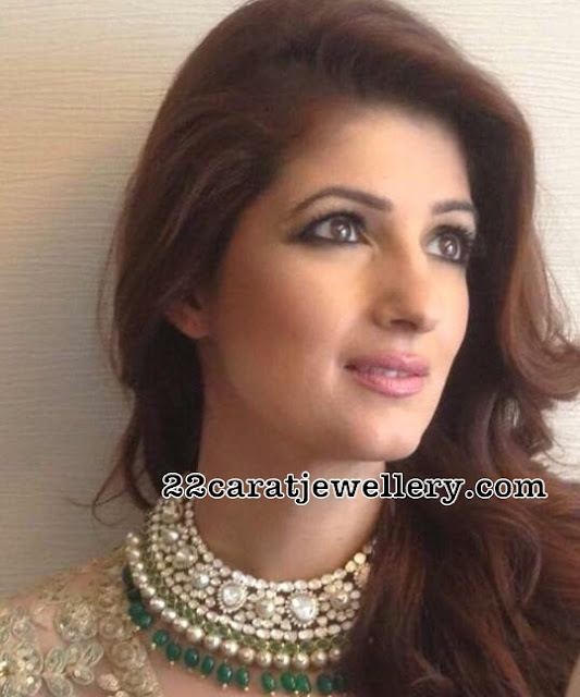 Twinkle Khanna Diamond Necklace