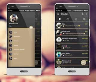 BBM Mod Aksara v3.0.0.18 Apk Terbaru 2016 Gratis