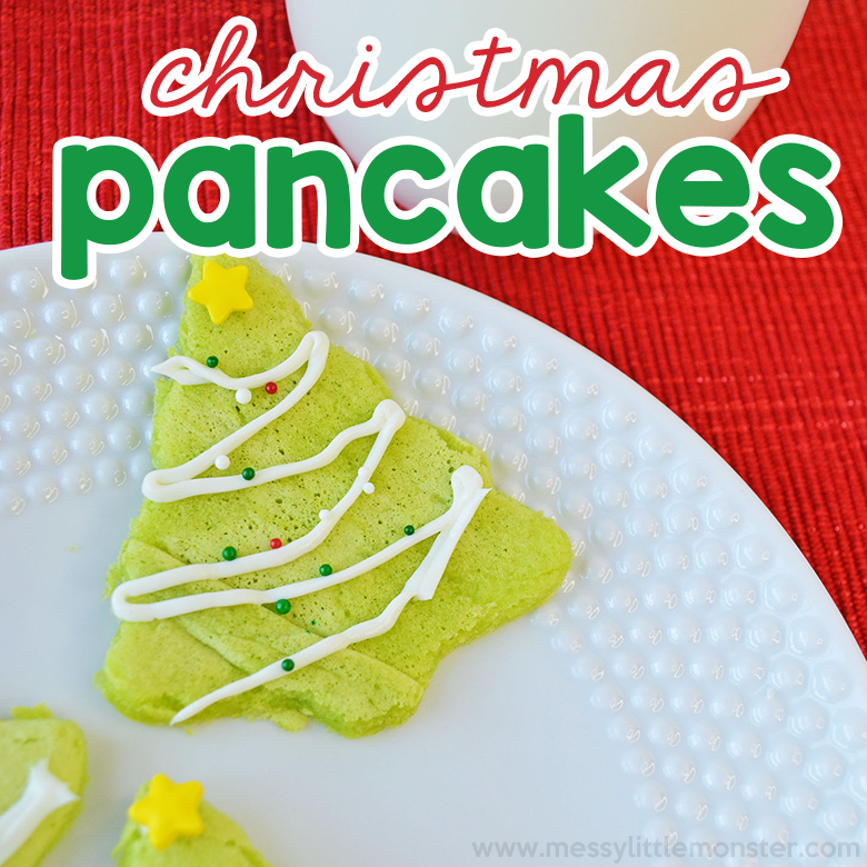 Christmas Pancakes Recipe - A Fun Christmas Day Breakfast