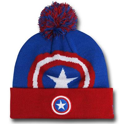 Captain America Shield Beanie