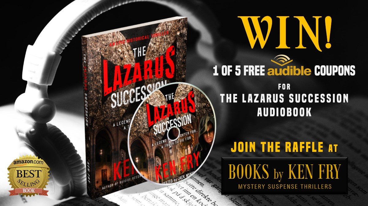 Books by Ken Fry: Rafflecopter Giveaway for The Lazarus