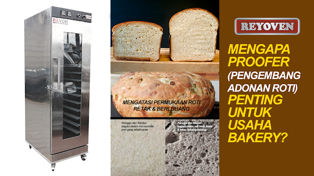 Mengapa Mesin Pengembang Adonan Penting Untuk Bakery?